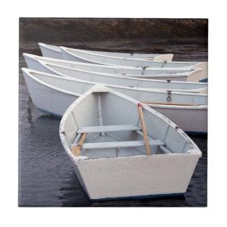 Botes de remos azulejo cuadrado pequeño