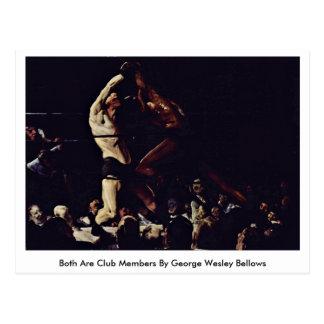 Both Are Club Members By George Wesley Bellows Postcard