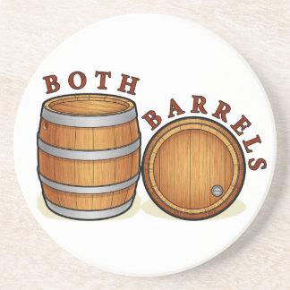 Both Barrels Coaster
