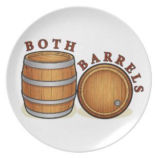 Both Barrels Plate