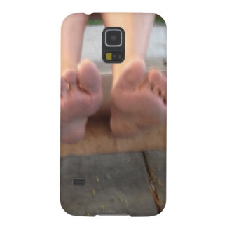 BOTH FEET UP CLOSE CASE FOR GALAXY S5