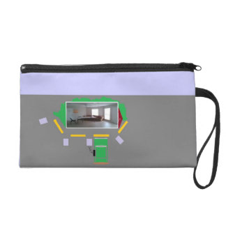 Both genders can carry things comfortably on wrist wristlet purse