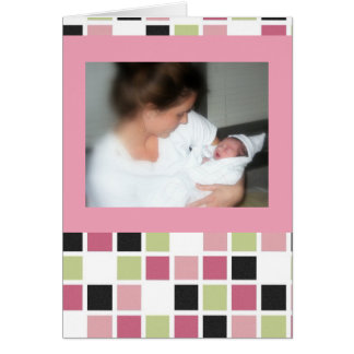 Both her mother's love. card