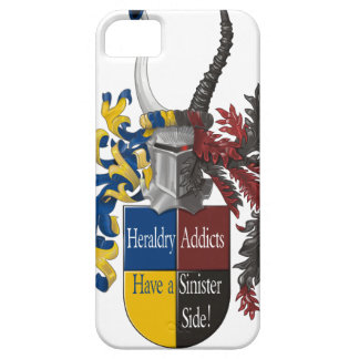 Both sides of Heraldry iPhone 5/5S Covers