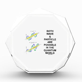 Both Wave & Particle Are Possible In The Quantum Award