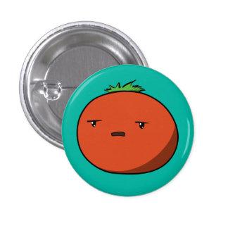 Bothered Tomato Pinback Button