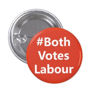 #BothVotesLabour Labour Party Logo Button