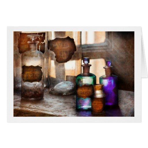 Boticario - ácido sulfúrico deshidratado Rosmarini Tarjeton