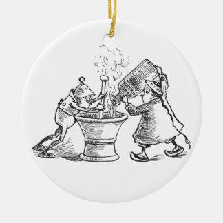 Boticarios del brownie ornamento de reyes magos