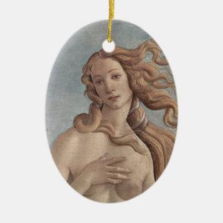Boticelli's Birth of Venus Ornament