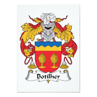 Botilher Family Crest Cards