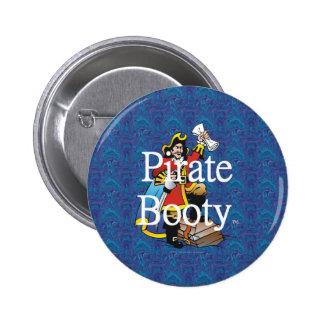 Botín del pirata de la CAMISETA Pin Redondo 5 Cm
