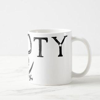 Botín del pirata tazas de café