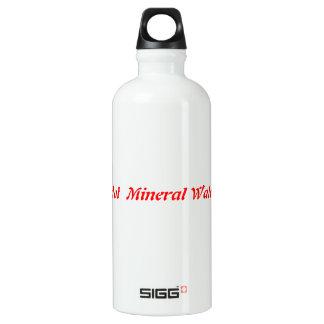 Botle caliente del agua mineral