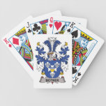 Botner Family Crest Playing Cards