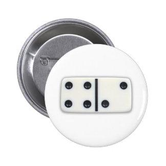 Botón 001 del dominó pin