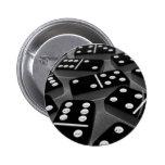 Botón 008 de los dominós pins