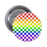 Botón 01 de los inspectores del arco iris pin