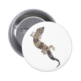Botón 01 del Gecko Pin Redondo De 2 Pulgadas