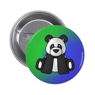 Botón 02 de la panda pin redondo de 2 pulgadas