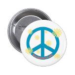Botón 03 de la paz pin