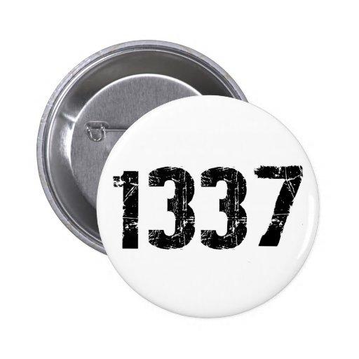 Botón 1337 pins