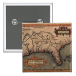 Botón 1584 del mapa de la Florida del La Pins