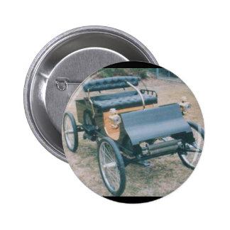 botón 1903 del coche del vintage pin