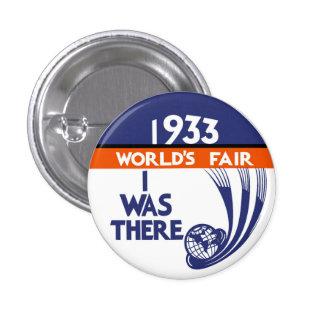 Botón 1933 de la reproducción de la feria de mundo pins