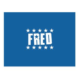 Botón 1 de Fred Tarjetas Postales