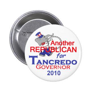 Botón 2010 del gobernador de Tancredo Pin