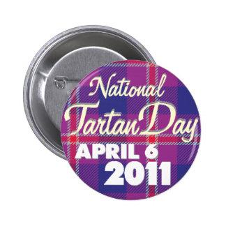 Botón 2011 del día del tartán: Estándar Pins