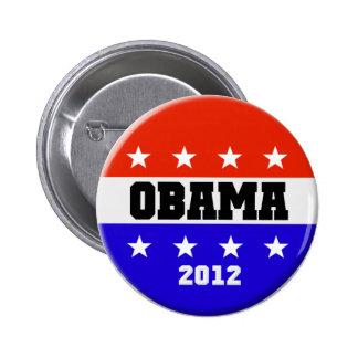 Botón 2012 de la campaña de Barack Obama Pin