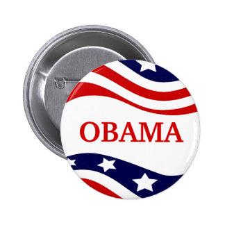 Botón 2012 de la campaña de Barack Obama Pin Redondo De 2 Pulgadas