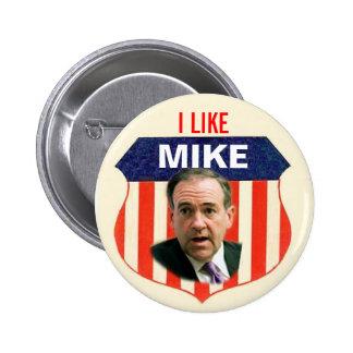 Botón 2012 de Mike Huckabee Pin Redondo De 2 Pulgadas