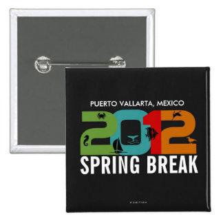 Botón 2012 de Puerto Vallarta de las vacaciones de Pin