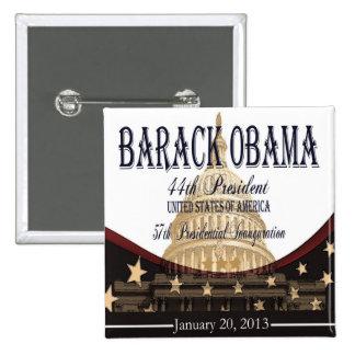 Botón 2013 de la inauguración de Obama Pins