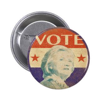 Botón 2016 de la elección de Hillary Clinton Pin Redondo De 2 Pulgadas