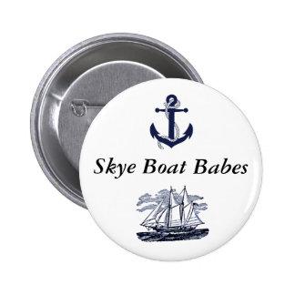 Botón #2 de los bebés del barco de Skye Pin Redondo De 2 Pulgadas