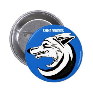 Botón 2 de los LOBOS de SMMS Pins