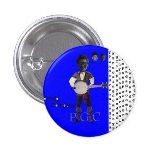 Botón 2 de Panda Grooming Company Pin Redondo De 1 Pulgada