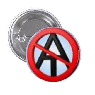 Botón 2 del Anti-Ateo Pin Redondo De 1 Pulgada