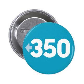 Botón 350 pin redondo de 2 pulgadas