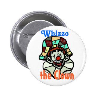 Botón 3 de Whizzo Pin Redondo De 2 Pulgadas