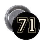 botón 71 pins