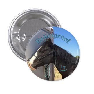 Botón A PRUEBA DE BALAS Pin Redondo De 1 Pulgada