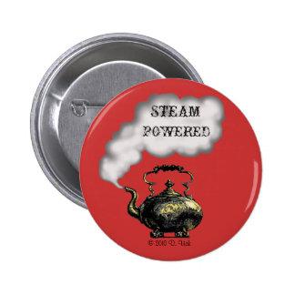 Botón accionado vapor pin redondo de 2 pulgadas