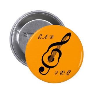 botón acústico guitar2 pin