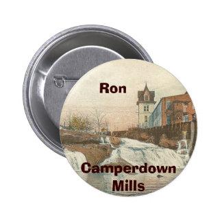 Botón adaptable #3 de Camperdown Pin Redondo De 2 Pulgadas