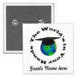 Botón adaptable de la graduación pin
